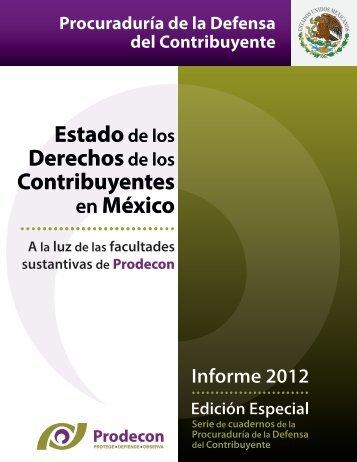 Informe - Estado de los Contribuyentes en México - Indetec