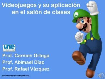 Videojuegos y su aplicación en el salón de clases