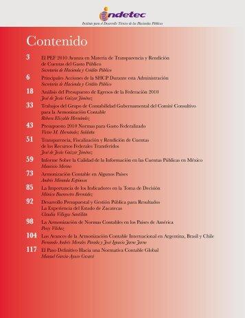 Contenido - Indetec