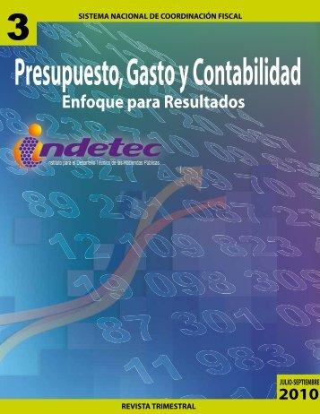 Presupuesto, Gasto y Contabilidad - Indetec