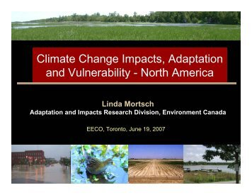 Climate Change Impacts, Adaptation and Vulnerability - North America
