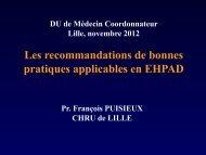 Les recommandations de bonnes pratiques applicables en ... - PIRG