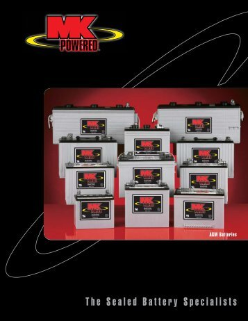 MK AGM Battery Data Sheet - SunWize Technologies, Inc.