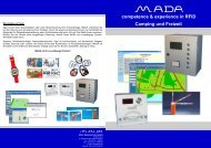 Zutrittskontrolle - MADA - Marx Datentechnik GmbH