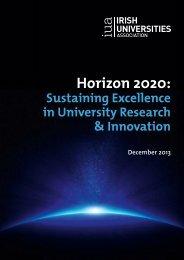 Horizon 2020: - Irish Universities Association