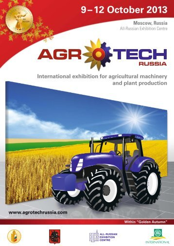 our latest brochure. - AgroTech Russia
