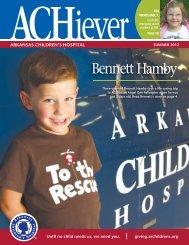 Summer 2012 - Arkansas Children's Hospital