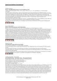 Wintersemester 2007 / 2008 - Buchwissenschaft