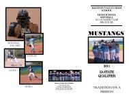 MUSTANGS - Ralston Valley High School
