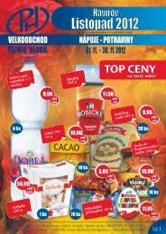 Katalog listopad Havířov 1-10 2012