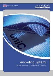 UniC 10 product line - MADA - Marx Datentechnik GmbH