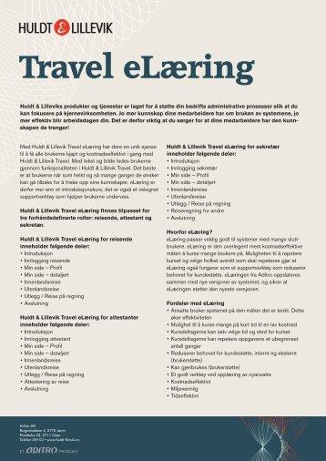 Huldt & Lillevik Travel eLearning - Proplan AS
