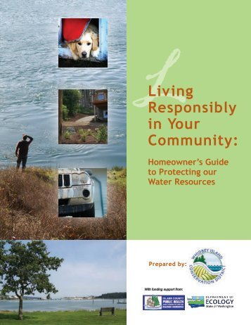 Living Responsibly in Your Community - Snohomish Conservation ...