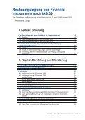 Rechnungslegung von Financial Instruments nach IAS 39 - Schweiz - Seite 3