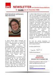 Newsletter 09-2008 - Daniela Behrens