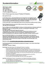 Kundeninformation - GMC-I Service GmbH