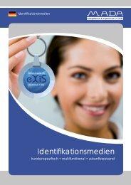 Sicherheit für Ihre Ausweise - MADA - Marx Datentechnik GmbH