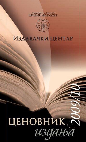 Cenovnik 2009-2010.indd
