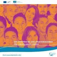 der europäische qualifikationsrahmen für lebenslanges ... - Europa