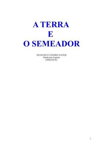 A terra e o Semeador.pdf - Comunidades