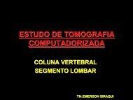 ESTUDO DE TOMOGRAFIA COMPUTADORIZADA - Comunidades