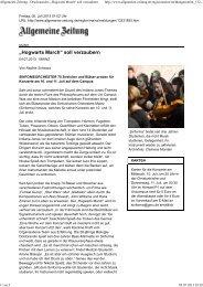 Allgemeine Zeitung 05. Juli 2013 - Bericht - SinfOrMa - Sinfonisches ...