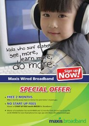 SPECIAL OFFER - Maxis