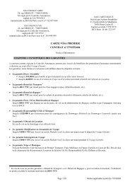 Notice VISA Premier - CIC