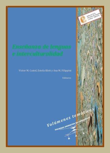 Enseñanza de lenguas e interculturalidad - Facultad de Filosofía y ...