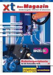 Magazin Sonderausgabe Intertool & Schweissen Das - x-technik