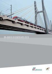 Bilancio Trenitalia 2010 - Ferrovie dello Stato Italiane