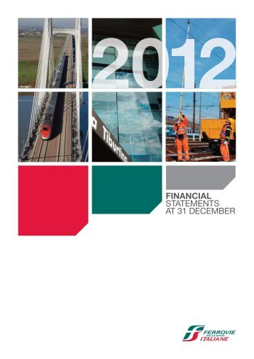 financial statements at 31 december - Ferrovie dello Stato Italiane