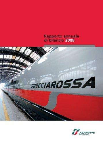 Rapporto annuale di bilancio Ferrovie dello Stato 2008 (.pdf 2977 KB)