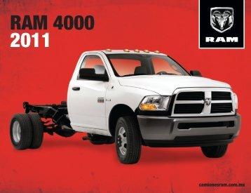 GS Ficha Tec RAM 4000 2011 28x21.5 08-03-11 - Carfastmx.com