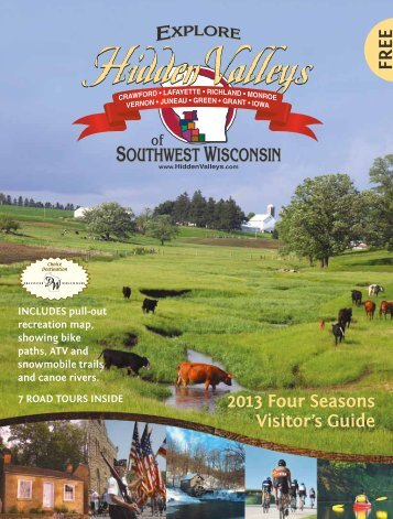 Don't Miss - Hidden Valleys of Southwestern Wisconsin