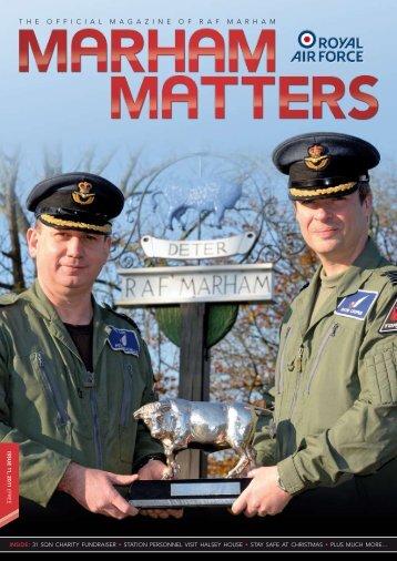 Issue 11 - Marham Matters Online