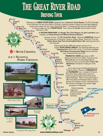 The Great River Road - Hidden Valleys of Southwestern Wisconsin
