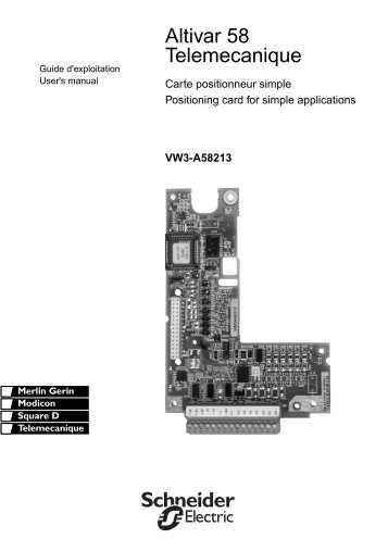 Altivar 28 Programming Manual