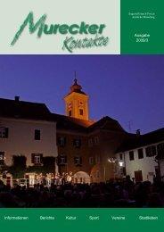 Ausgabe 2009/3 Informationen Berichte Kultur Sport Vereine - Mureck