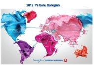Aralık 2012 - Turkish Airlines