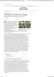 FAZ: Das Geschäft mit den Schulranzen