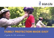 FAMILY PROTECTION MADE EASY - Irish Life