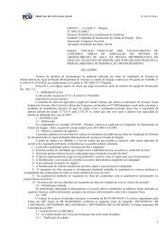1 GRUPO I – CLASSE V – Plenário TC 009.325/2008-2 Natureza ...