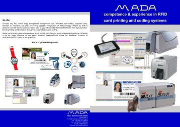 RFID coding software - MADA - Marx Datentechnik GmbH