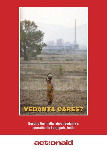 Vedanta Cares? - ActionAid