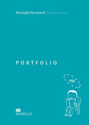 Elementary Portfolio - Straightforward