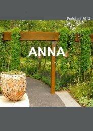ANNA OUTDOOR Katalog - W & B Metal Solutions