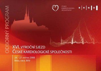 program sjezdu pdf - Česká kardiologická společnost