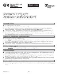Anthem Employee Change Form Application
