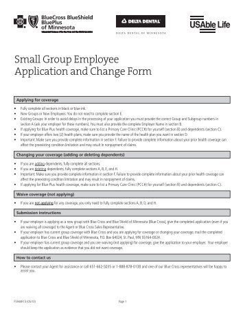 Employee ApplicationDeletion Or Change Form